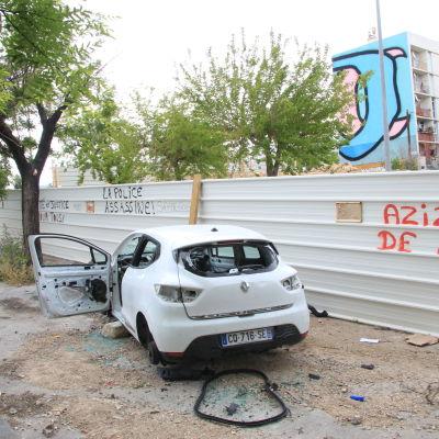 Polisen besöker ogärna förorten La Busserine i norra Marseille.