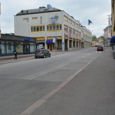Biskopsgatan i Borgå.