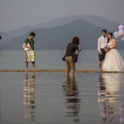 bröllopsfotografering i Kina