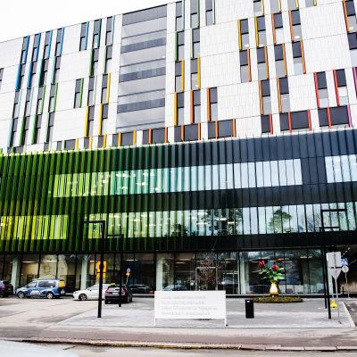 Nya barnsjukhuset i Mejlans i Helsingfors.