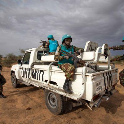 FN har 13 000 soldater från flera olika länder i Sydsudan som har lidit av inbördeskrig sedan år 2013