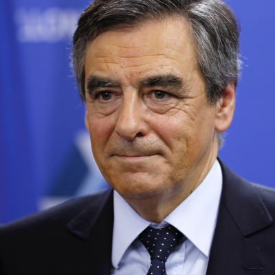 Franska politikern François Fillon