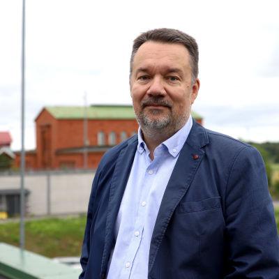Joutsenon vastaanottokeskuksen johtaja Jari Kähkönen