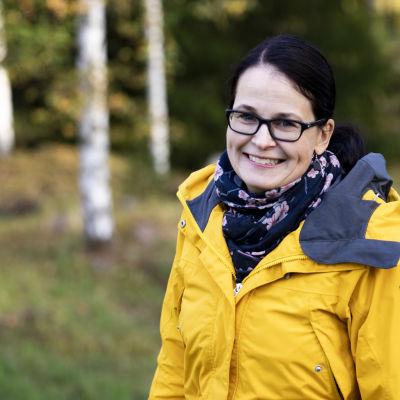 Ruokolahden kunnanhallituksen puheenjohtaja, keskustan Taina Paananen.