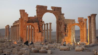 Ruiner i Palmyra.
