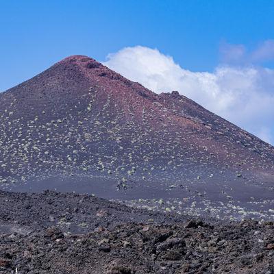Vulkanlandskap på La Palma.