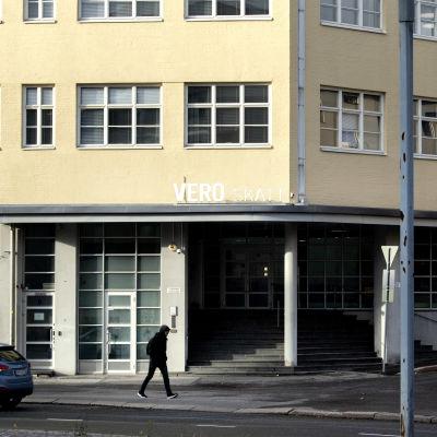 Verohallinnon pääkonttori Helsingin Vallilassa.