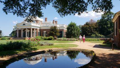 Herrgården Monticello i USA.