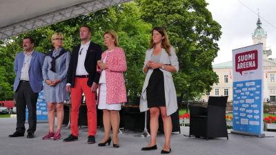 SFP på scen i Björneborg 2016
