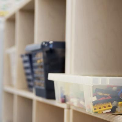 förvarings lådor för lekasaker