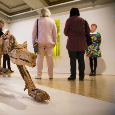 Tankesmedjorna har tillgång till museernas utrymmen, utställningar och sakkunskap.