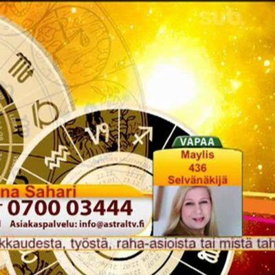 Kuva Astral TV:n lähetyksestä.