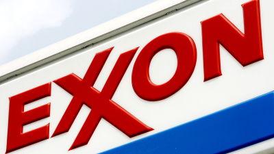 Amerikanska oljebolaget Exxons varumärke