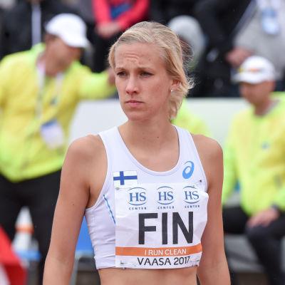 Camilla Richardsson, lag-EM 2017.
