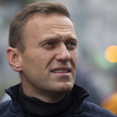 Lähikuva Aleksei Navalnyista