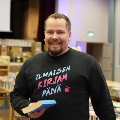Finlandia Kirjan yrittäjä Matti Pietilä