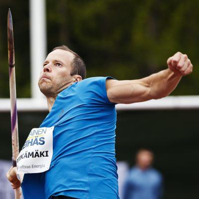 Tero Pitkämäkis säsongstart har på inget sätt varit dålig, men har är många meter efter de tyska topparna.