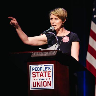 Cynthia Nixon ställer upp som kandidat i New Yorks guvernörsval.