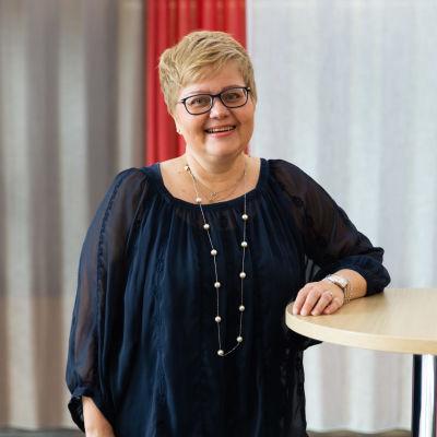Porträtt av Minna Korkiakoski-Västi