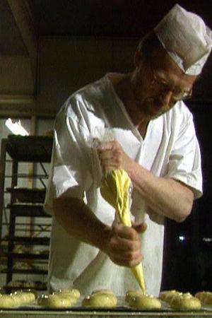 Halmes bageri i Köklax (bilden tagen ur ett program från år 1995).