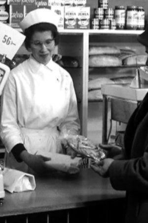 Kvinna köper bröd, Yle 1962