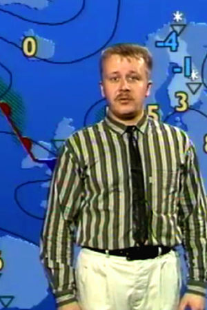 Juha föhr berättar om vädret, 1990
