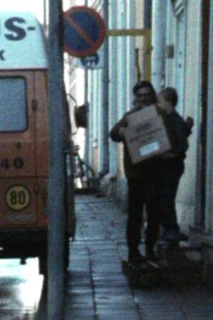 Emmaus hämtar varor, 1980