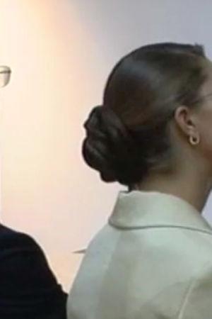 Drottning Silvia, kung Carl XVI Gustaf, kronprinsessan Victoria i Jyväskylä, Yle 2003