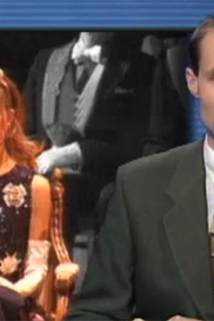 Nyhetsuppläsare Jonas Jungar om kronprinsessan Victoria, Yle 1997