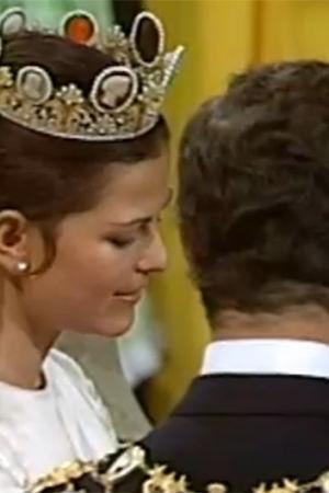 kung carl xvi gustaf och silvia gifter sig, Yle 1976