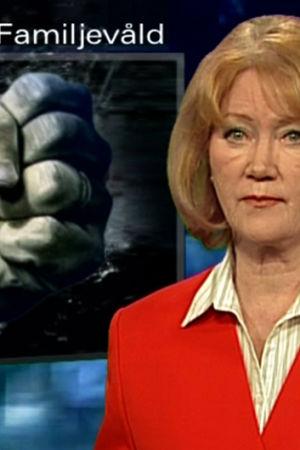Monica Welling om familjevåld i TV-nytt, Yle 2006