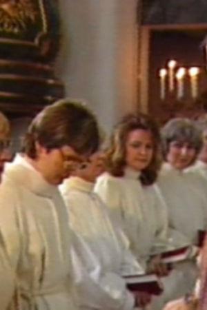 Prästvigning av Finlands första kvinnliga präster, 1988