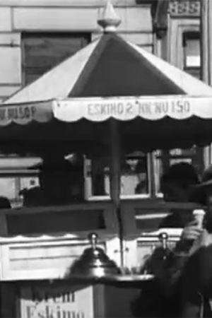 Kvinnor äter glass, 1933