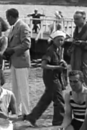 Hangö, badstrand, 1934,