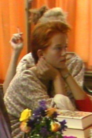 Anna Wahlgren och hennes barn