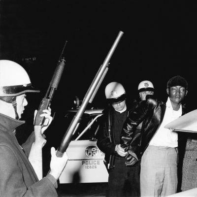 Svart man arresteras i Los Angeles, 1966
