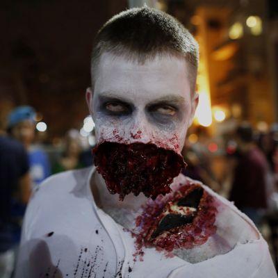 Zombiewalk i Tel Aviv.