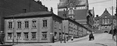 Helsinki, Snellmaninkatu 16, 18. Liisankatu 23.