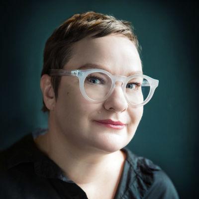 Författaren Sanna Tahvanainen.