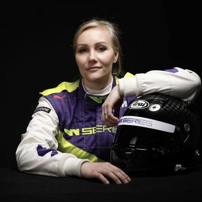 Emma Kimiläinen kör W Series.
