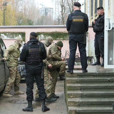FSB julkaisi videota ukrainalaisten merimiesten kuulusteluista