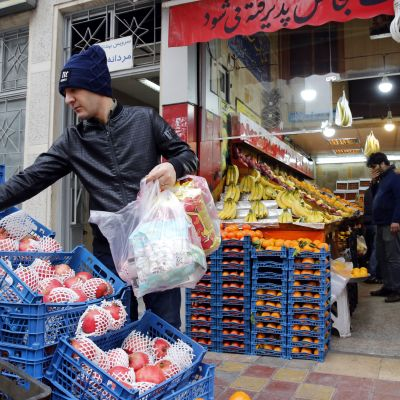 Höga priser i Iran