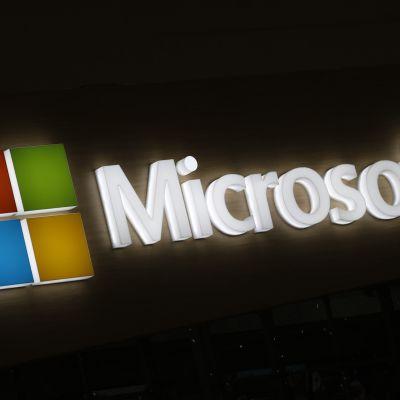 Microsofts logo.