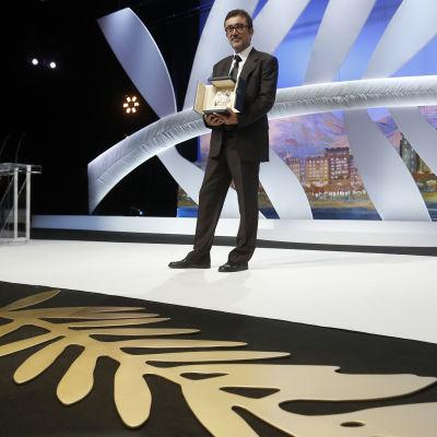 Regissören Nuri Bilge Ceylan vid filmfestivalen i Cannes