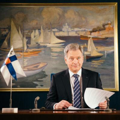 Sauli Niinistö, Helsinki, 29.12.2017