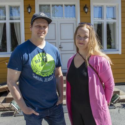 Jaakko Koskela ja Mervi Isoaho