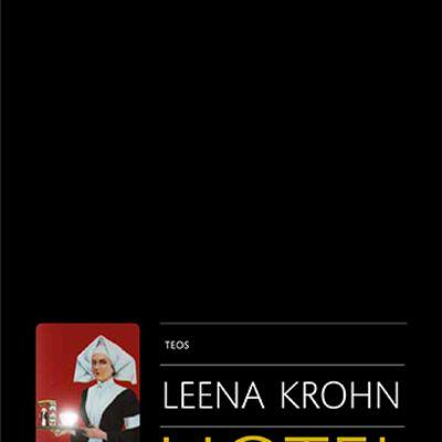 Leena Krohn: Hotel sapiens -kirjan kansi
