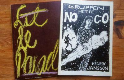 Två böcker av Henrik Jansson.
