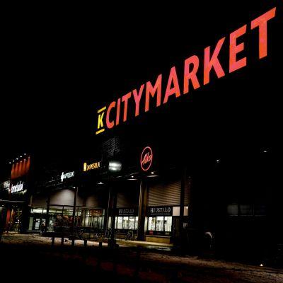 Citymarkets fasad.