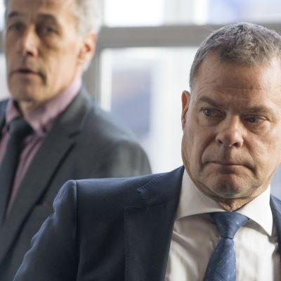 Jari Aarnion oikeudenkäynti. Poliisijohdon virkarikosoikeudenkäynti, Helsingin käräjäoikeus 02.10.2018.